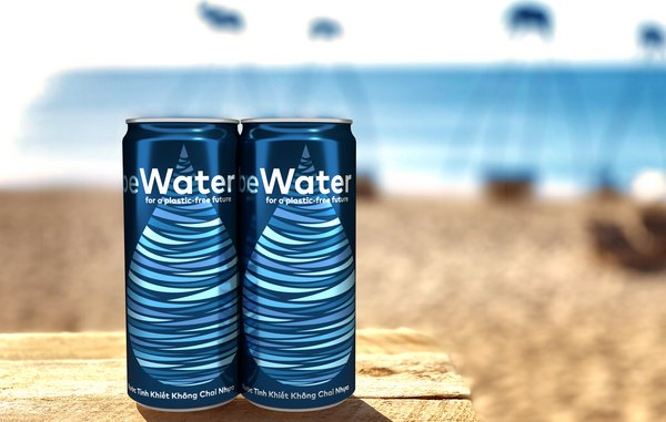 Vietnam's Winking Seal Beer Co. Launches beWater to Help Eliminate Single-Use Plastics