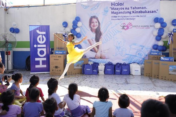 Xinhua Silk Road: Haier actively takes part in public welfare undertakings worldwide