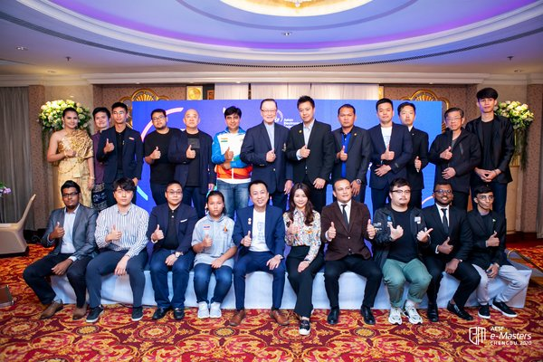 AESF e-Masters Chengdu Are Around the Corner With 28 Teams Advanced from Regional Qualifiers in Thailand