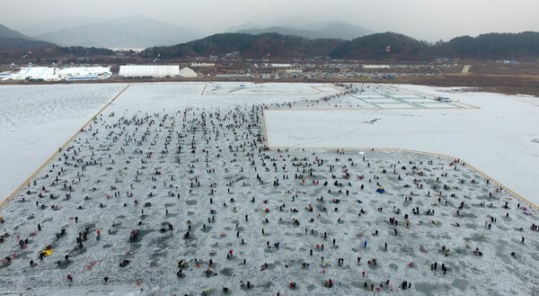 Inje icefish festival kicks off in northeastern county
