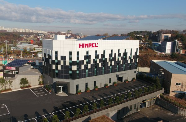 Himpel, a company specializing in ventilation, is the first Korean company to establish a zero-energy plant