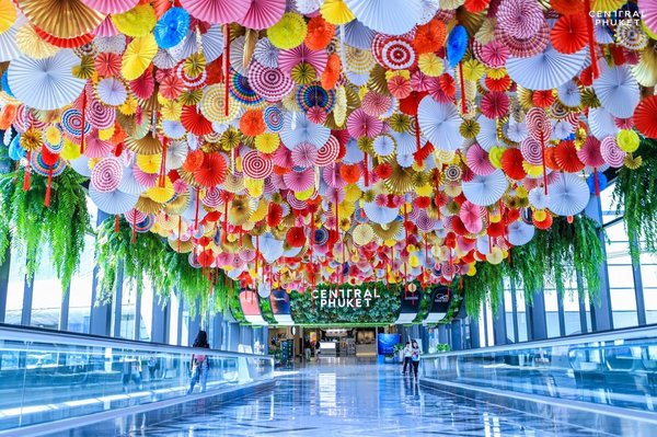 """春节泰国尚泰普吉推 """"珍珠巴扎""""活动  珍珠皇冠亮相现场"""