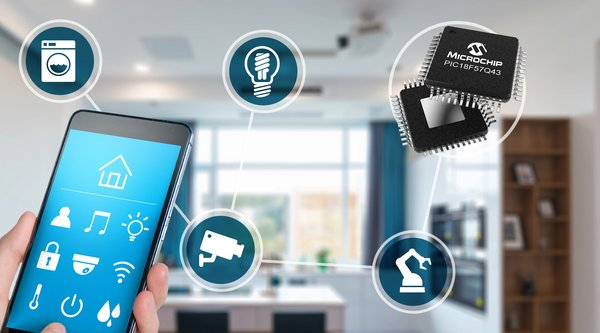 New PIC(R) MCU Family Moves Software Tasks to Hardware for Faster System Response