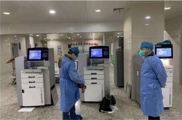 爱克发向疫区捐赠价值500万的医疗援助设备
