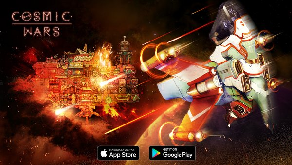"""UTPlus Interactive Inc. announced the launch for the global service of """"COSMICWARS-THE GALACTIC BATTLE"""""""