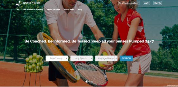 sportsntrain.com find and compare all sports coaches, academies, clubs, and association all over Singapore
