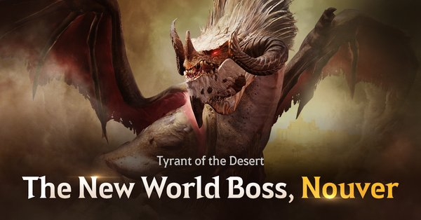 New Menacing World Boss Nouver Unleashed in Black Desert Mobile