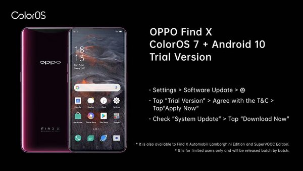ColorOS 7 Trial Version now available on flagship OPPO devices in Indonesia