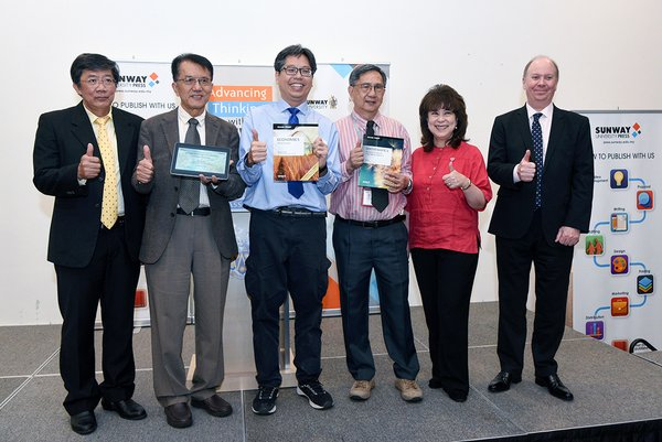 Sunway University Press Launches Books written by Lecturers to Aid Students