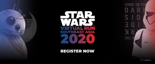 Southeast Asia's First Ever STAR WARS Virtual Run Launches on May the 4th