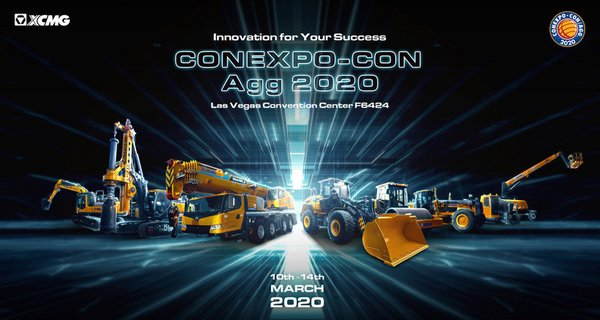 XCMG Brings its Largest Exhibition to CONEXPO-CON/AGG 2020