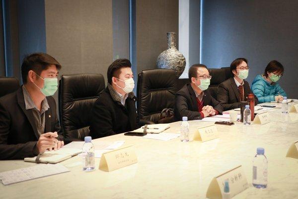 上海市长宁区国税局来访仲利国际租赁