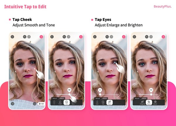 BeautyPlus launches the Easy Editor feature, creating a new approach to selfie editing
