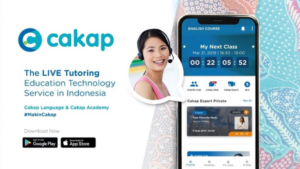 Cakap Helps Sustaining the Studying and Learning Activities Amidst the Outbreak of COVID-19 in Indonesia