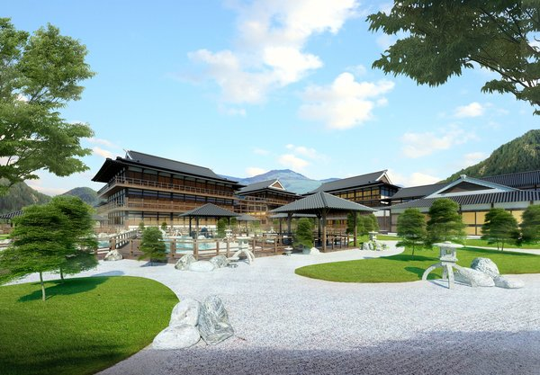 Yoko Onsen invested by Sun Group is scheduled to come into operation in 2020