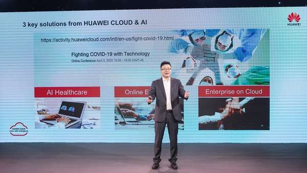 Deng Tao, President of HUAWEI CLOUD Global Market, launched the global action plan