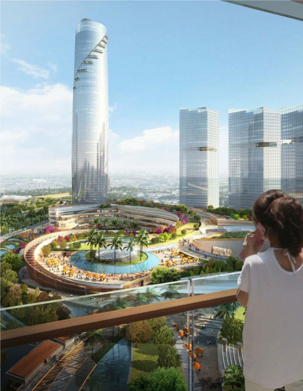 JERDE's Master Plan connects the mixed-use Bintaro Jaya district in Jakarta, Indonesia, to the adjacent university and create an overall intellectual and innovation district