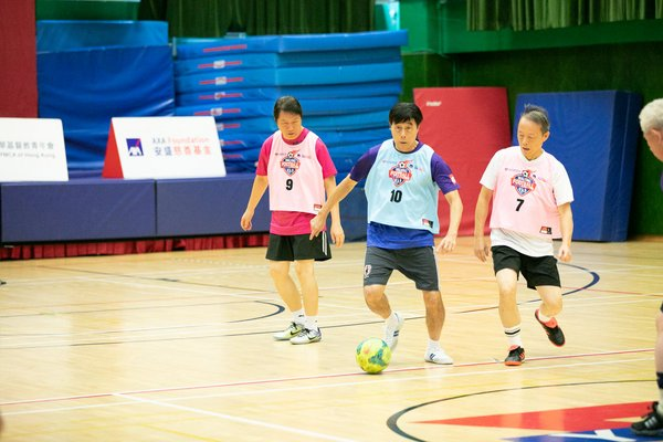 Walking Football proven to improve cardiopulmonary function