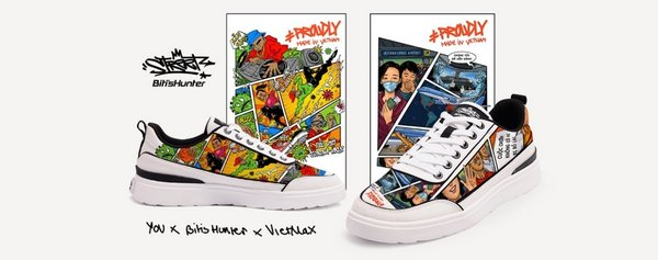 Cool artworks from Vietnamese Artists on shoes