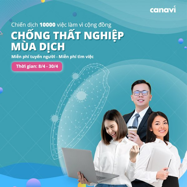 Canavi Launches Employment Campaign to Combat the Increasing Unemployment Rate in Vietnam