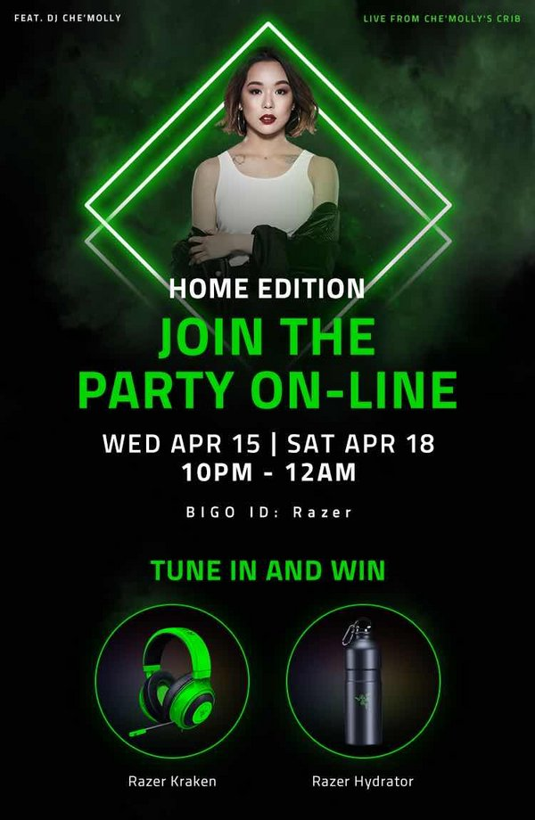 Bigo Live, Razer and Zouk Extends Cloud Clubbing Sets for Southeast Asian Party-goers