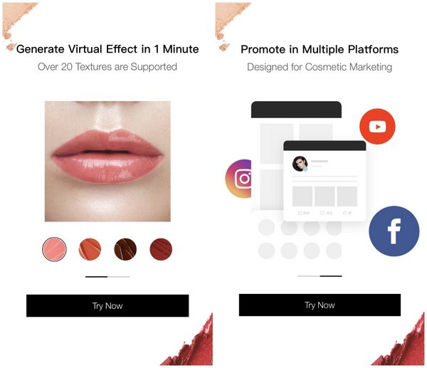 Meitu's Beauty Industry Support Plan offers online makeup trial service for global beauty enterprises and retailers for free