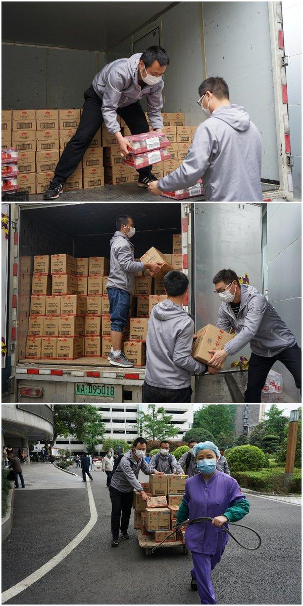致敬抗疫勇士 李锦记为四川省人民医院捐赠逾2000箱爱心酱料