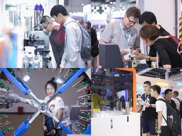 Visitors are visiting exhibits at Medtec China 2019