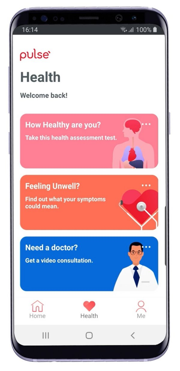 With Pulse by Prudential, users can check their symptoms; conduct a digital health assessment to better understand future disease risks; and seek timely health advice, at any time and from anywhere.