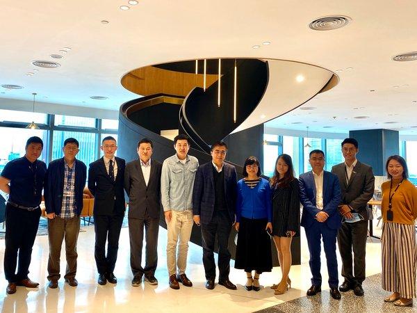 中国科学院院士、UIC校长汤涛率队到访BEEPLUS