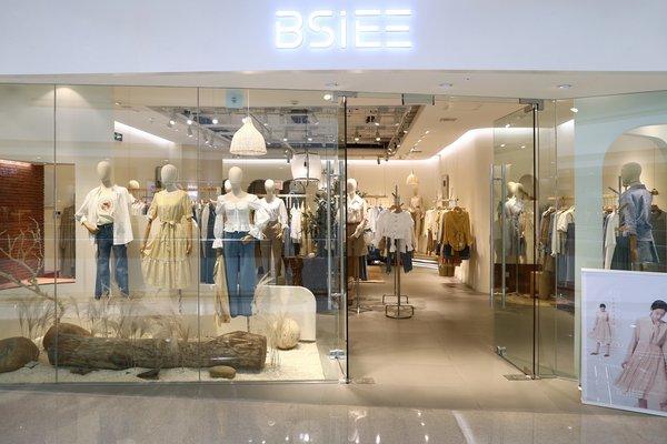 新锐买手品牌BSiEE本涩线下店铺