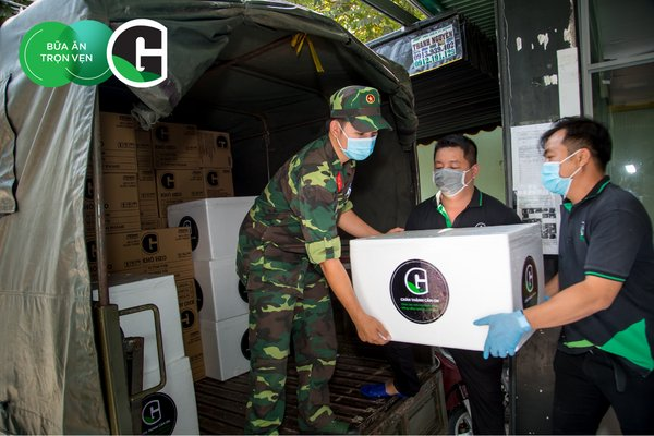 GreenFeed & Brand G representatives contributed support to frontline responders