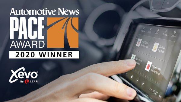李尔创新线上商业服务平台Xevo Market获《汽车新闻》杂志PACE大奖