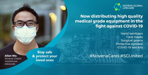 Novena Global Lifecare_ establishes new Business Unit in Medical PPE & has since delivered over $100 million supplies globally