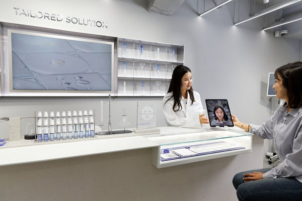 IOPE LAB in Myeongdong