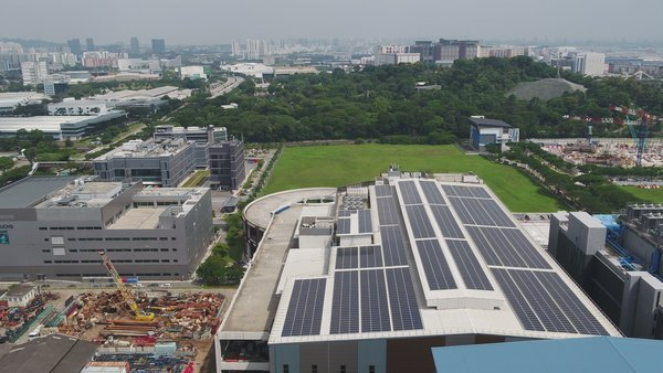The Bolloré Logistics Green Hub in Singapore, with solar rooftop by Total Solar DG completed in February 2020.