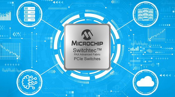 Microchip Switchtec(TM) PAX Advanced Fabric Gen 4 PCIe Switches Released to Production