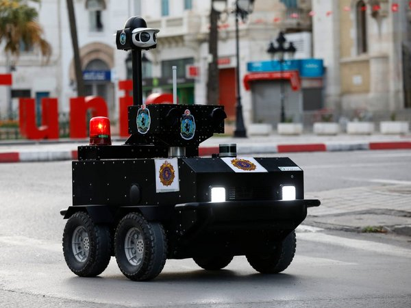 VIVOTEK Joins ENOVA Robotics Police Robot Project to Enforce COVID-19 Lockdown in Tunisia