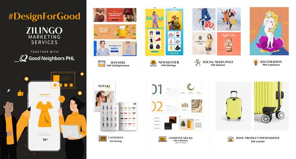 Zilingo MAAS Partners with Good Neighbours PHL, Offers Affordable Marketing Services for Local Businesses with 'Design for Good'