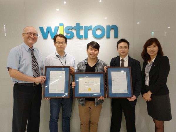 Wistron Receives TUV Rheinland Eyesafe Display Certification for Low Blue-Light Panels