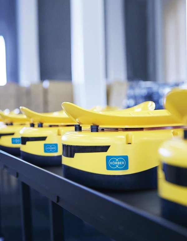 Cohesio Group, part of Körber unveils new sorting AMR solution