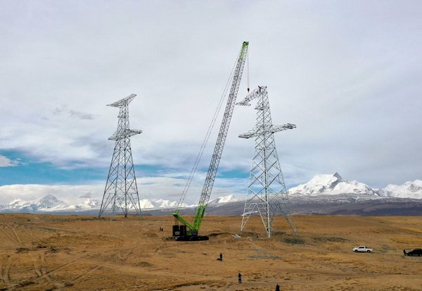 Zoomlion's ZCC1800H Crawler Crane Pushes the Limits in High-altitude Mega Project