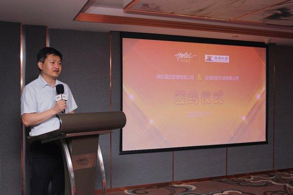 运城民航机场管理局副局长 张岳峰