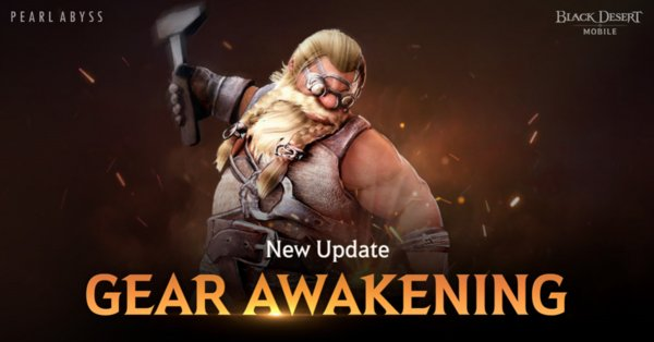 Gear Awakening and Family Blessings Now Available in Black Desert Mobile
