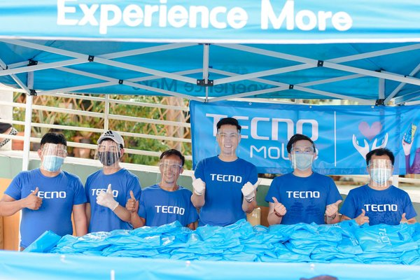 TECNO Mobile donates anti-COVID-19 supplies in Thailand