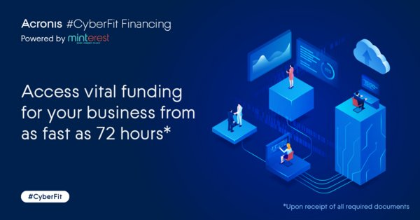 Acronis and Minterest Jointly Launch Acronis #CyberFit Financing in Singapore to Help Businesses Combat COVID-19 Disruptions
