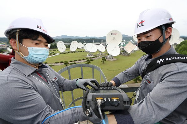 KT SAT's Next Satellite to Usher in 5G Space Age