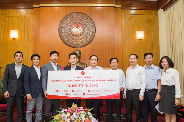 Lotte Group joins hands with Vietnam for post-pandemic recovery