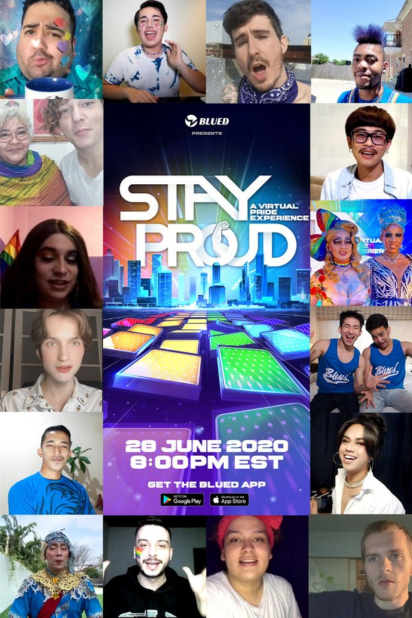 #StayProud, Blued's first ever virtual pride event, featured 20+ speakers and performers representing 9 countries in the app's ever-growing global user base.