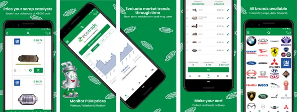 Ecotrade Group Highlights Its Digital Catalytic Converter Pricebook Tool